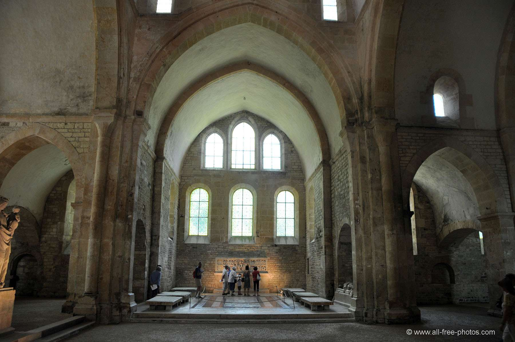 The Church - Fontenay Abbey - France