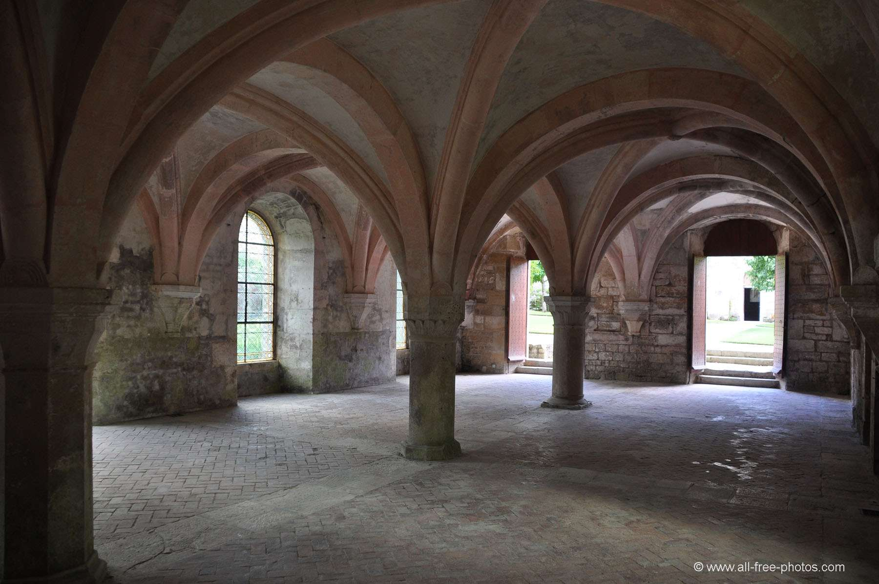 Scriptorium - Fontenay Abbey - France