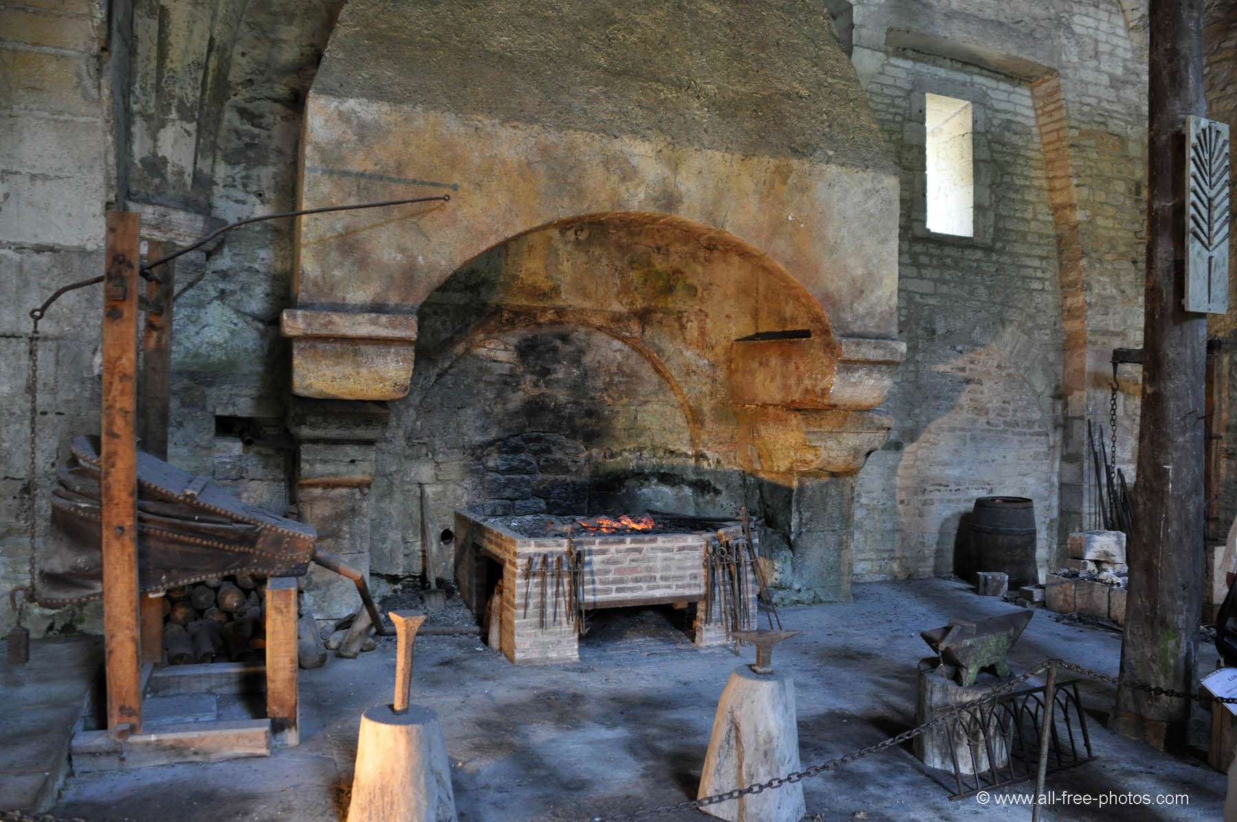The forge - Fontenay Abbey - France