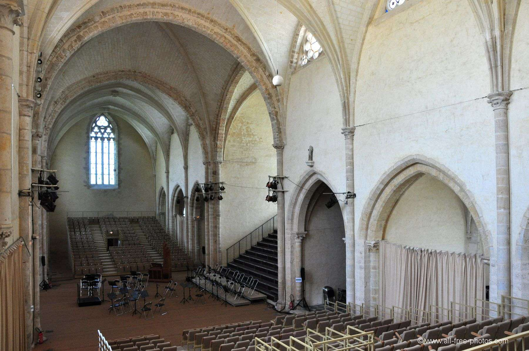 The Church - L'Épau Abbey - France