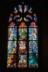 Stained glass - Basilica Notre Dame du Roncier - Josselin - France