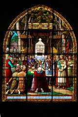 Stained Glass - Church of St. Jacques - Compiegne