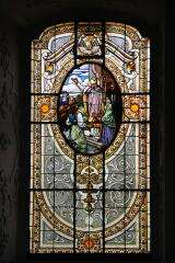 Stained glass - Cathedral of Kalocsa - Hungary