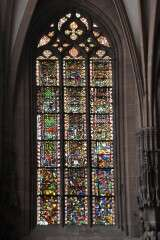 Stained glass - Strasbourg Cathedral