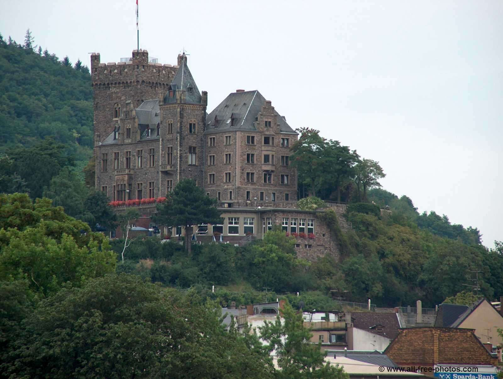 Klopp castle - Bingen - Rhine valley - Germany