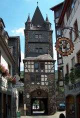 Bacharach  - Rhine valley - Germany