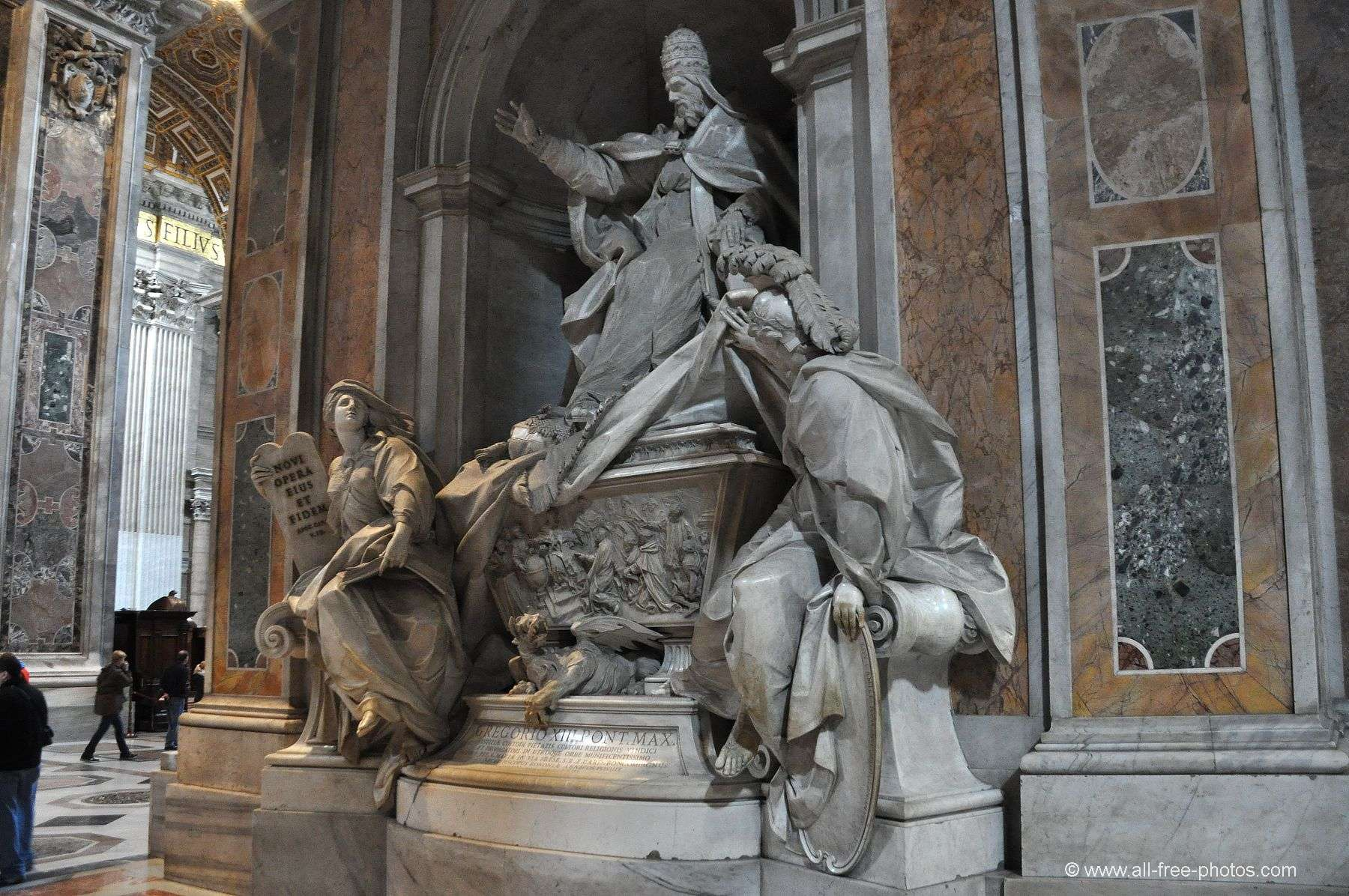 Pope Gregory XIII - St. Peter's Basilica - Vatican