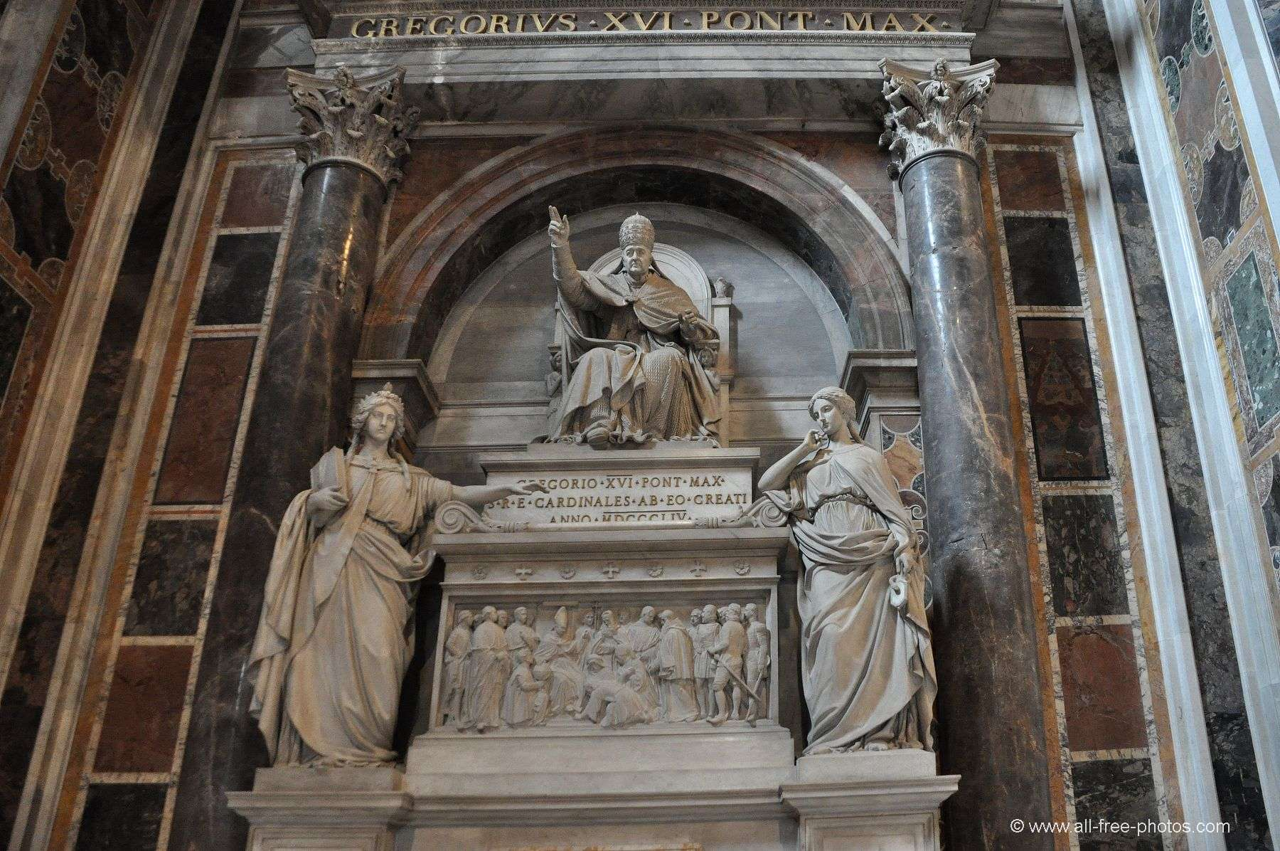 Pope Gregory XVI - St. Peter's Basilica - Vatican
