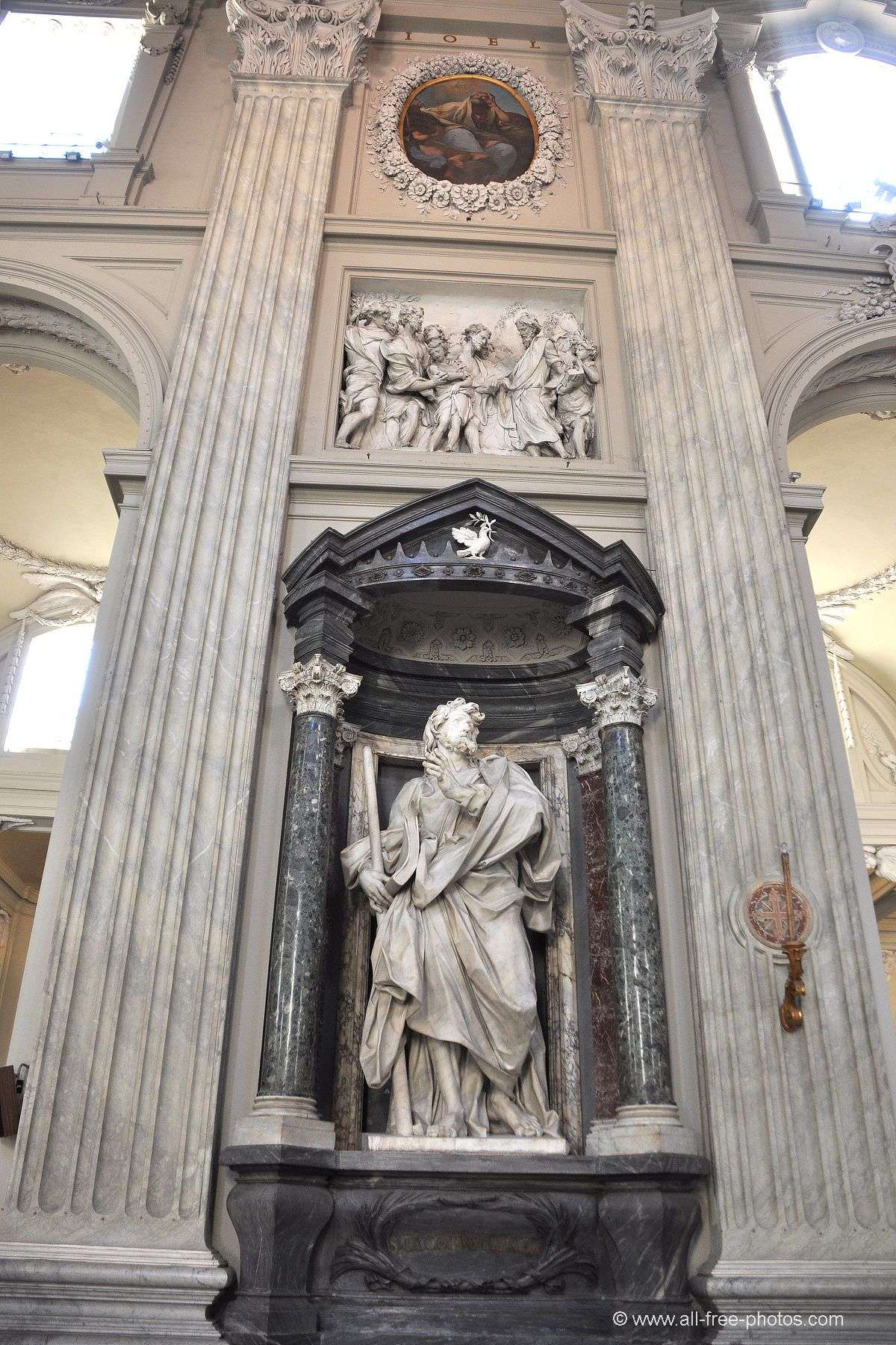 Saint Jacob -Basilica of St. John Lateran - Rome
