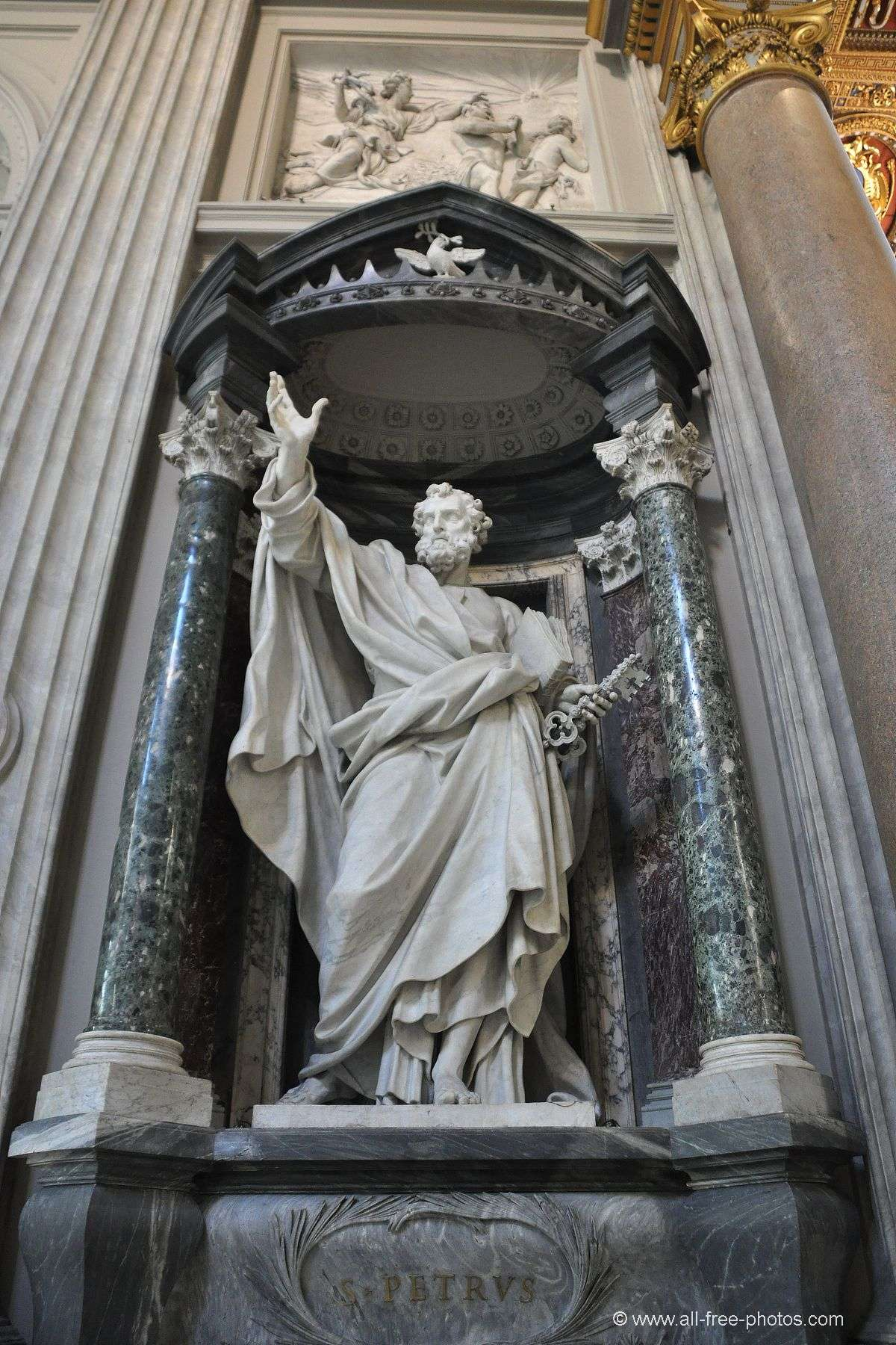 Saint Peter - Basilica of St. John Lateran - Rome