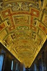 Ceiling - Gallery of Maps - Vatican
