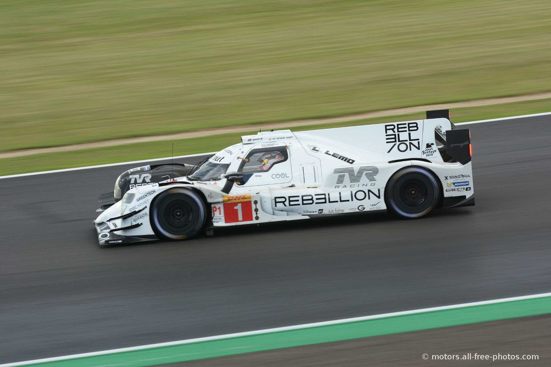 Rebellion R13-Gibson - Team Rebellion