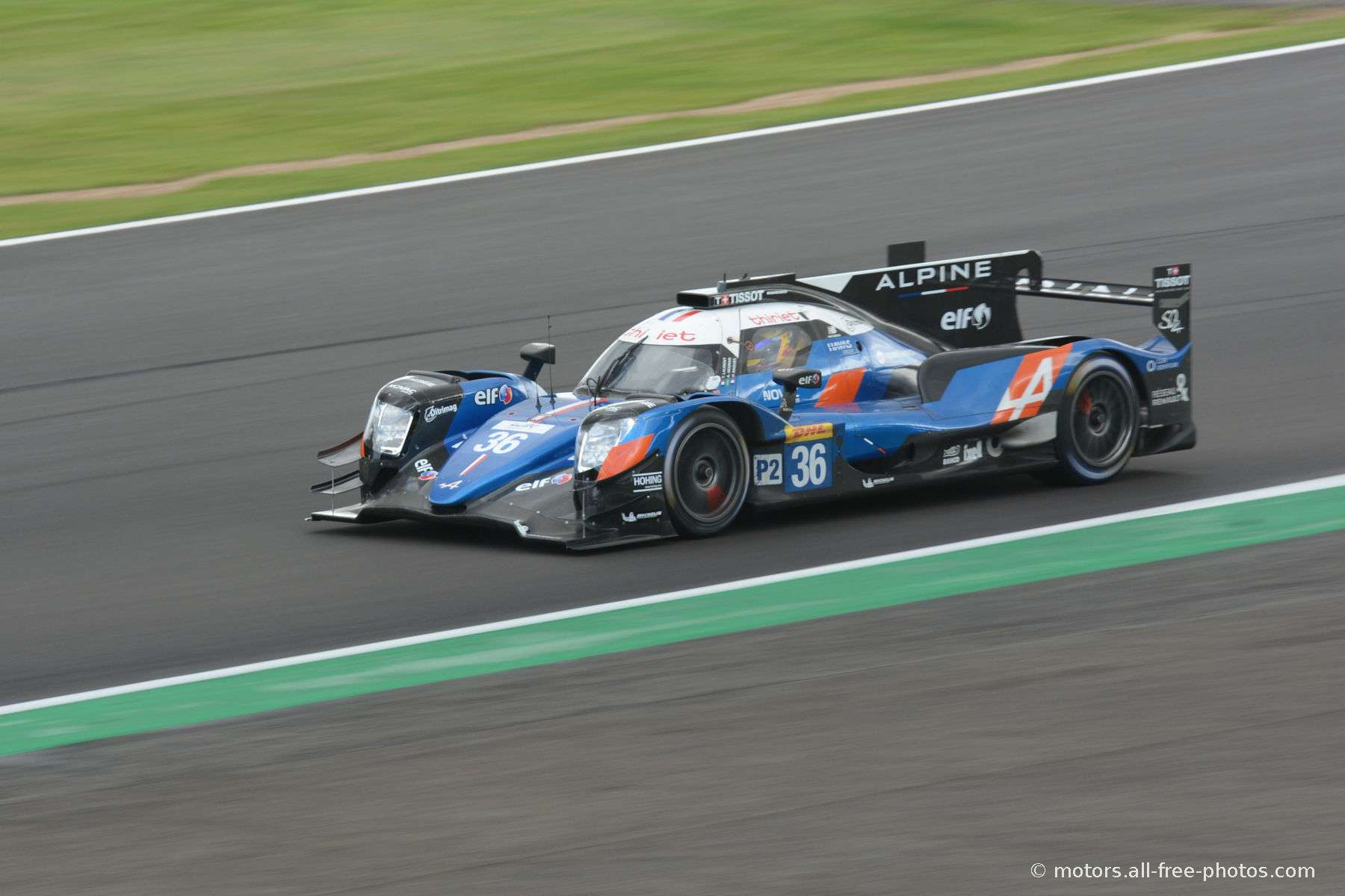Alpine A470-Gibson - Team Signatech Alpine Elf