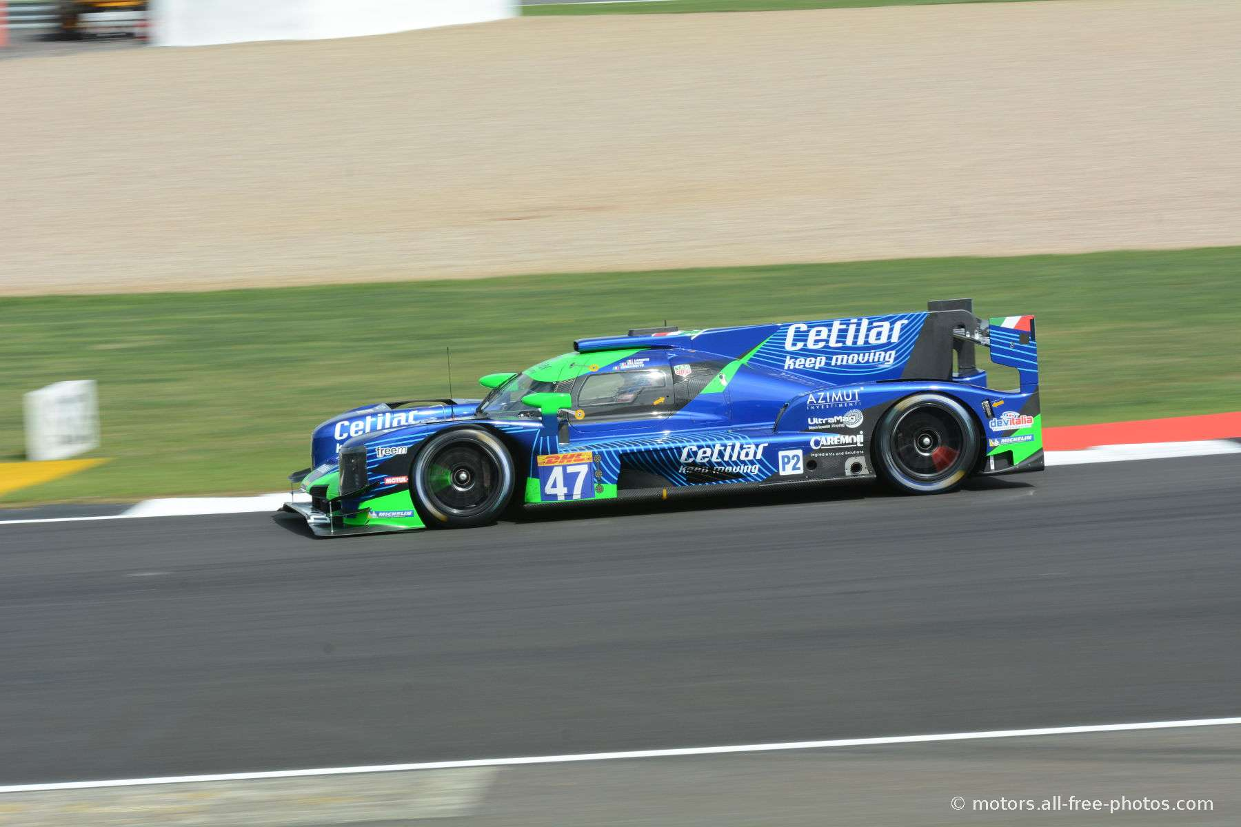 Dallara P217-Gibson - Team Cetilar Racing