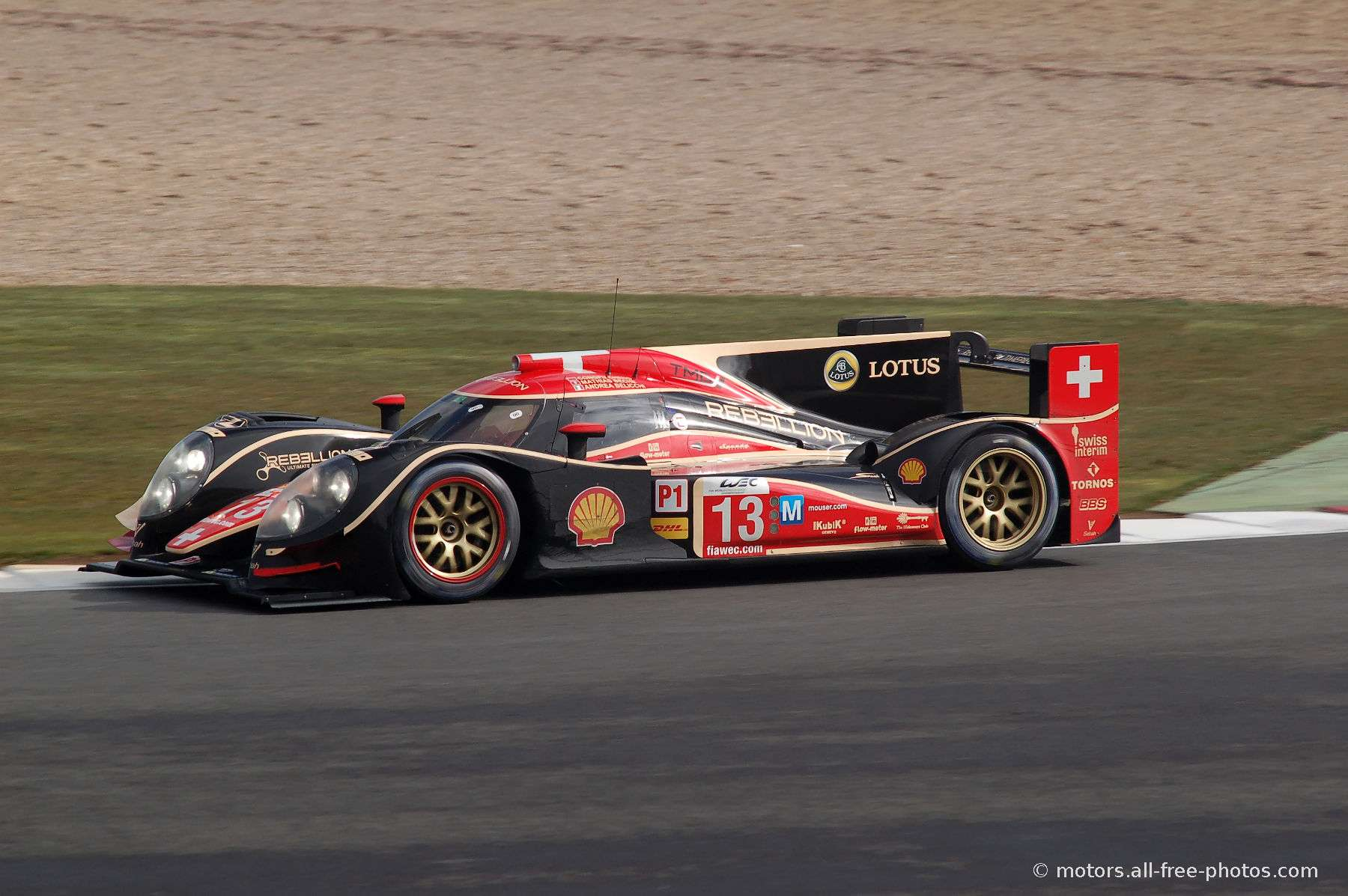 Lola B12/60 Coupé-Toyota - Team Rebellion Racing