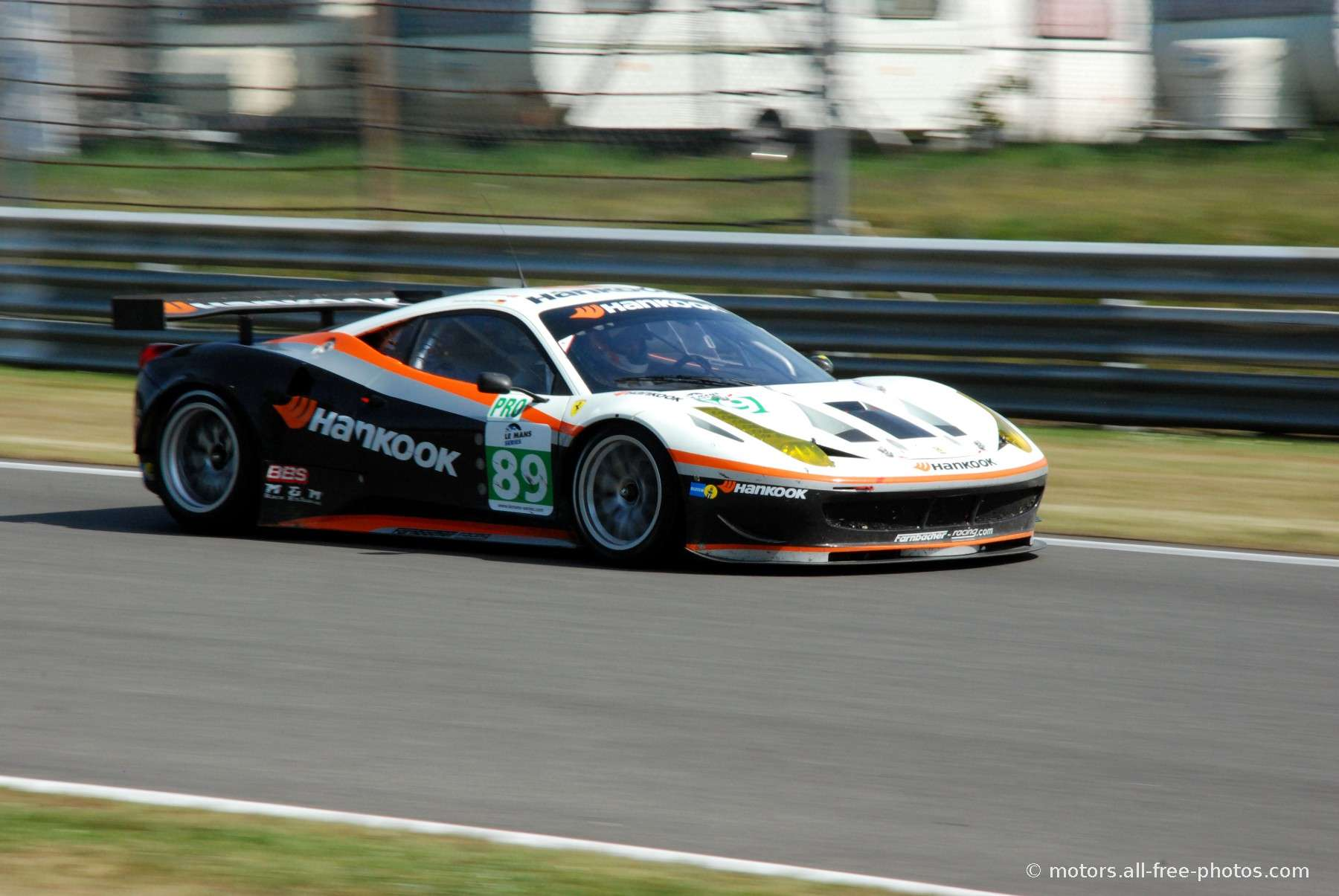Ferrari F430 GT - Team Hankook Farnbacher