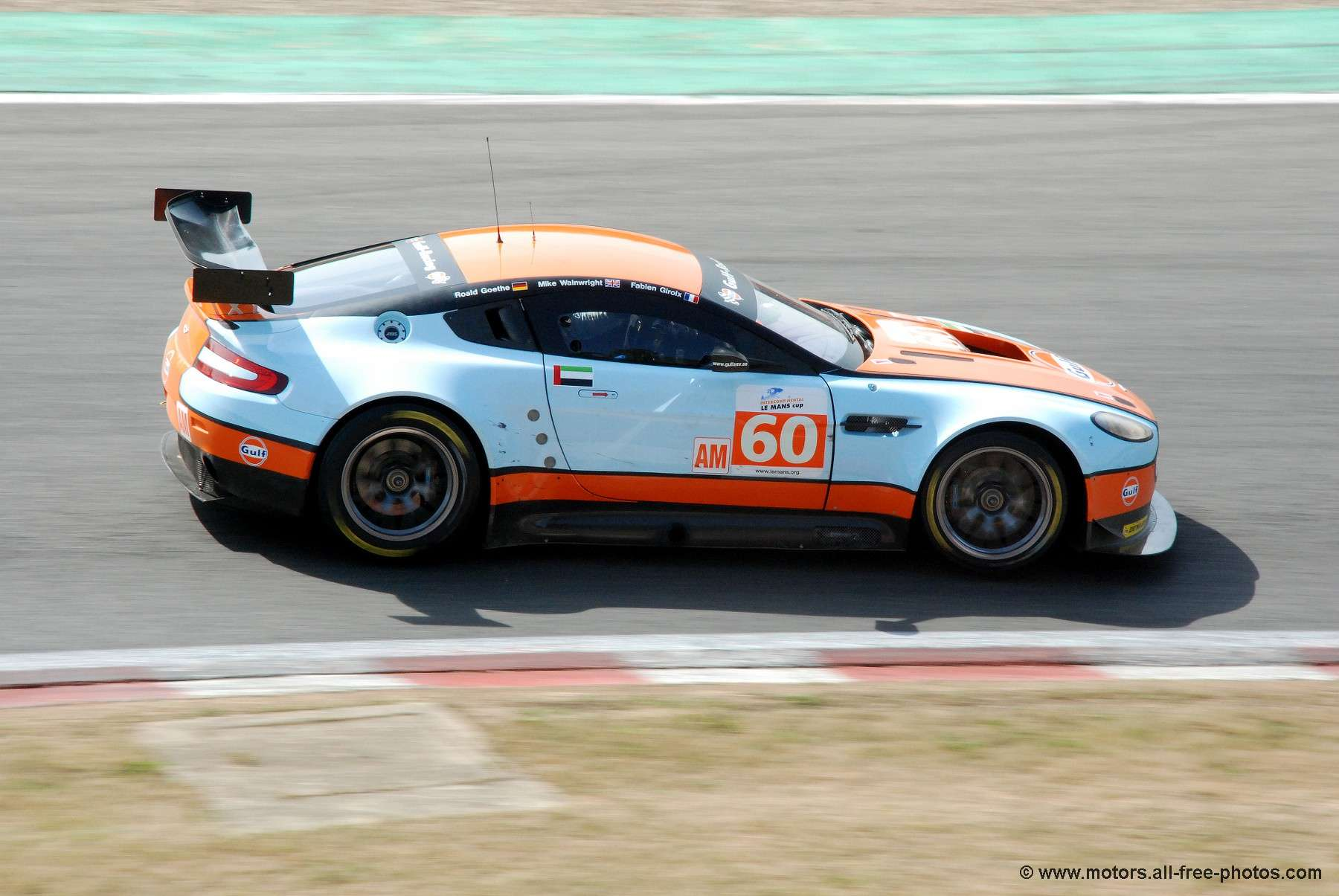 Aston Martin Vantage - Team Gulf AMR Middle East