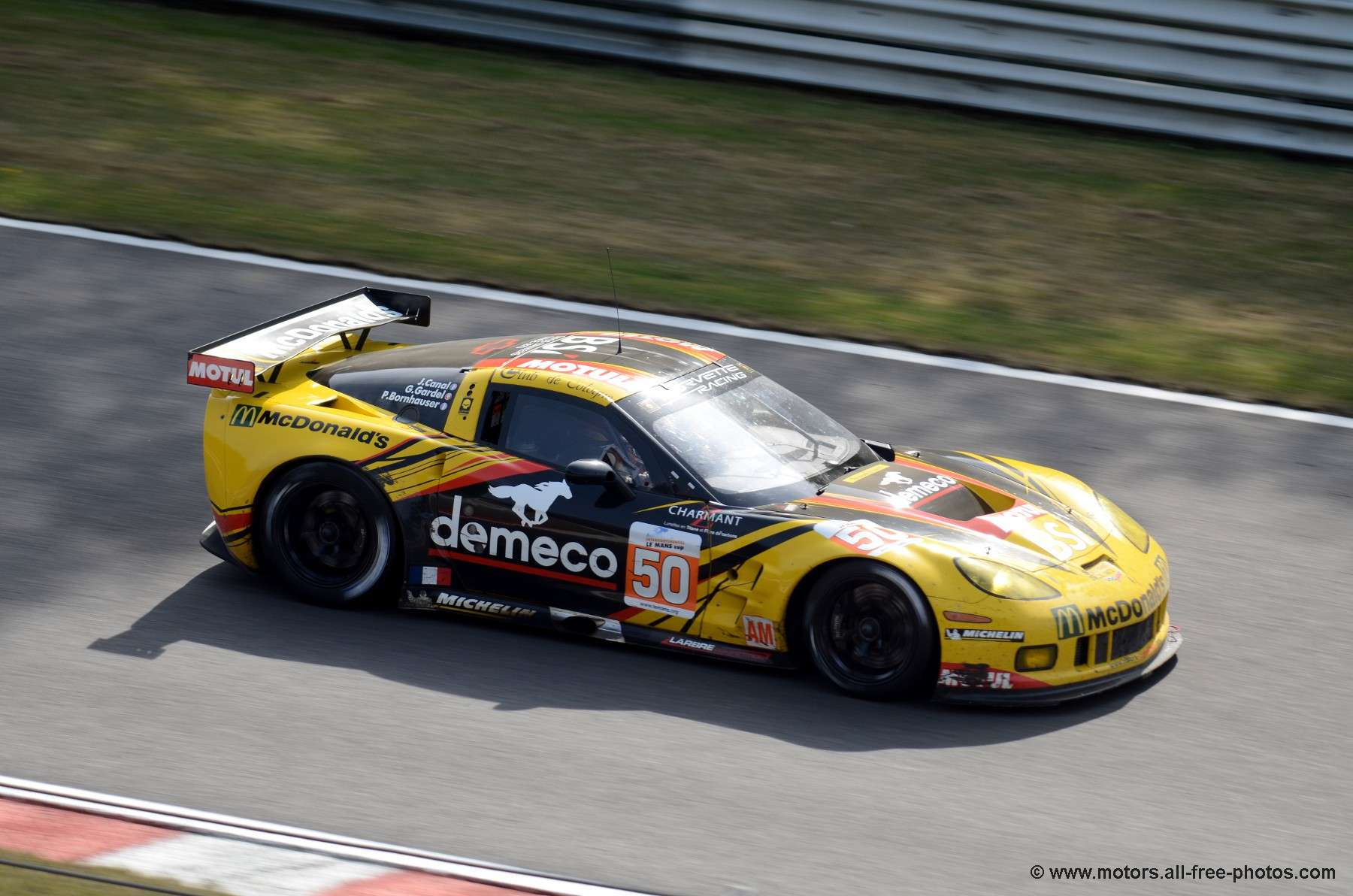 Chevrolet Corvette C6-ZR1 - Team Larbre Compétition