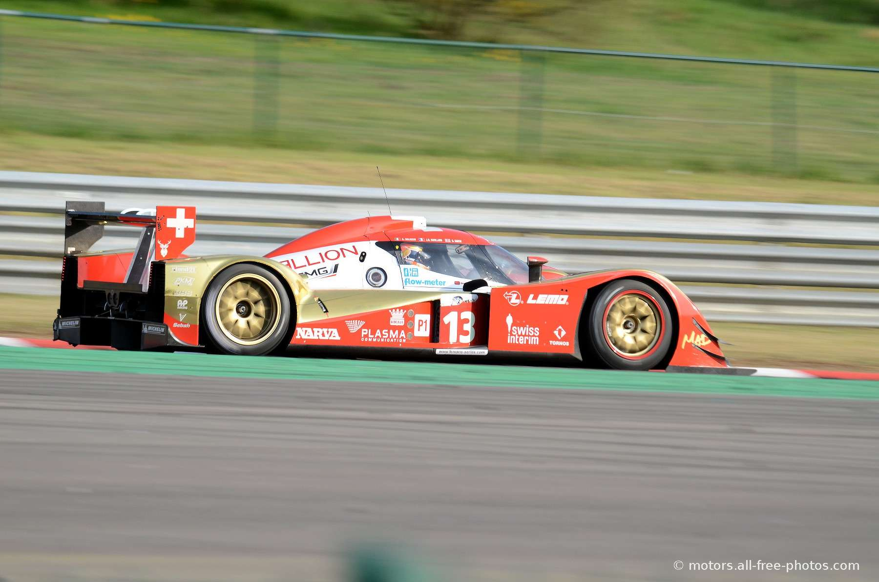 Lola B10/60 Coupé Toyota - Team Rebellion Racing