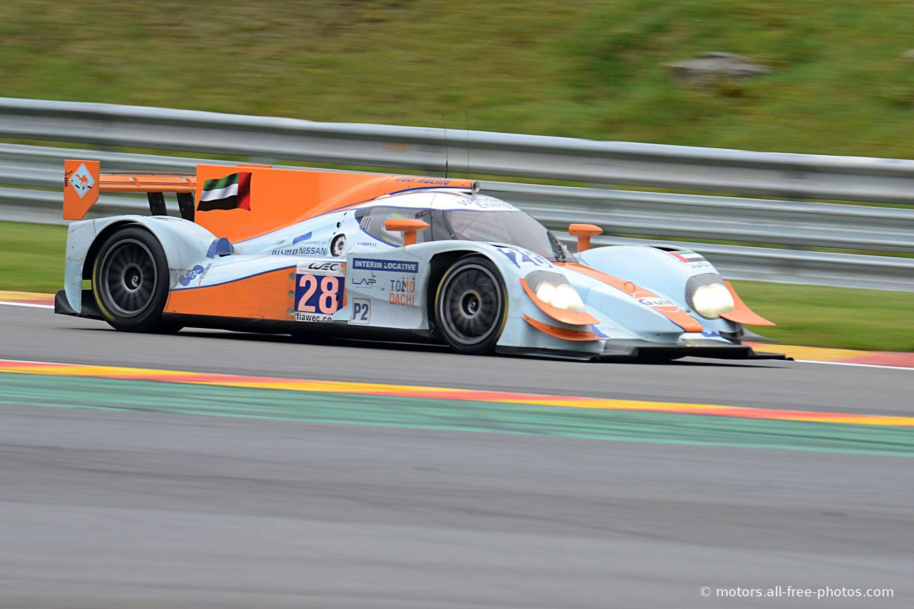 Lola Nissan Team Gulf Racing