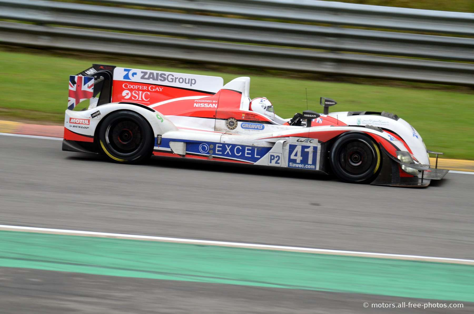 Zytec Z11SN-Nissan - Team Greaves Motorsport