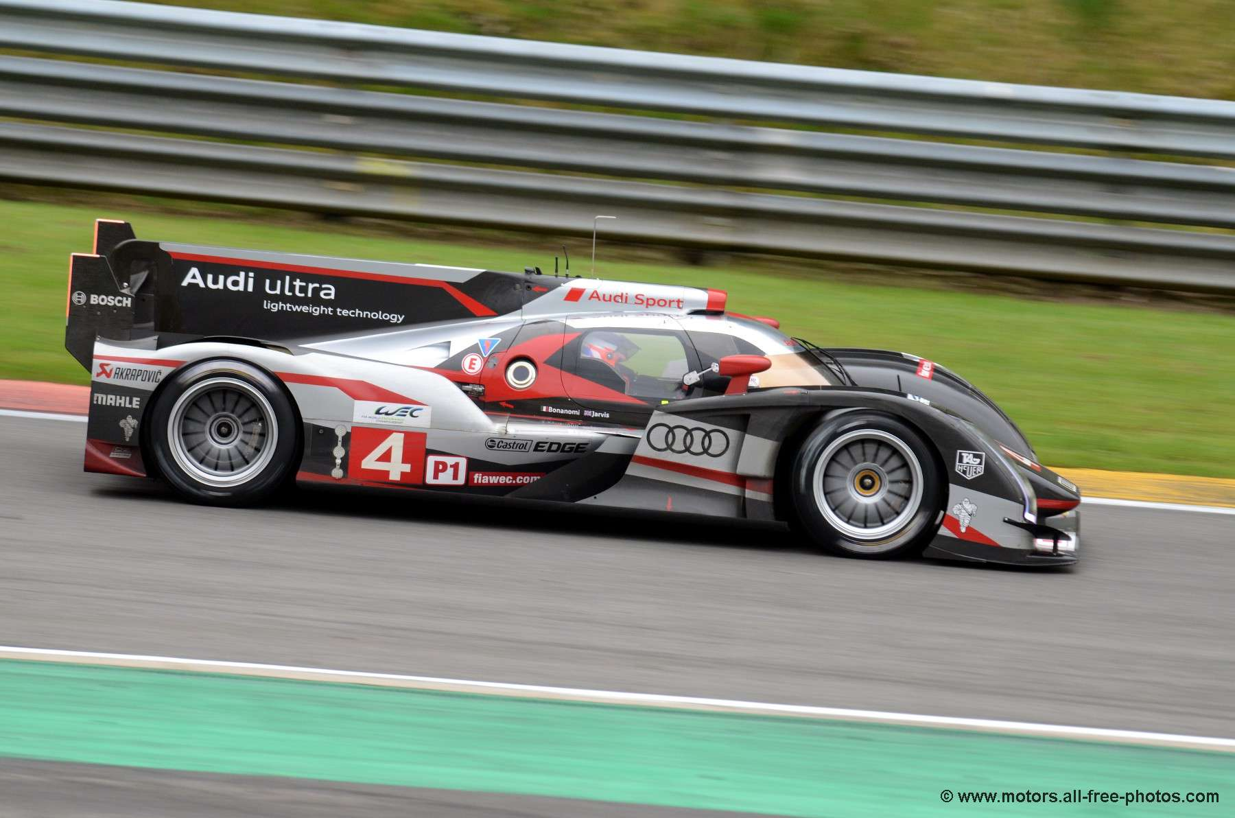 Audi R18 Ultra - Team Audi Sport North America