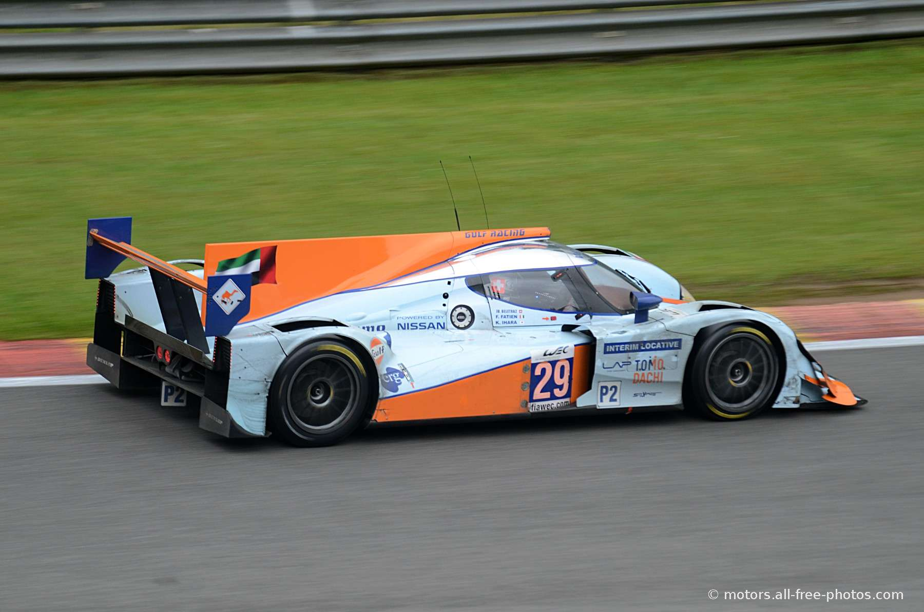 Lola B12/80-Nissan - Team Gulf Racing