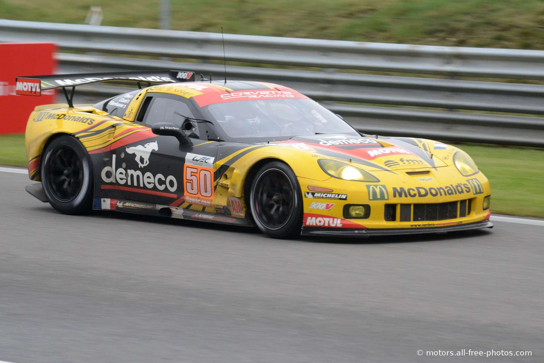 Corvette C6 ZR1 - Team Larbre Competition