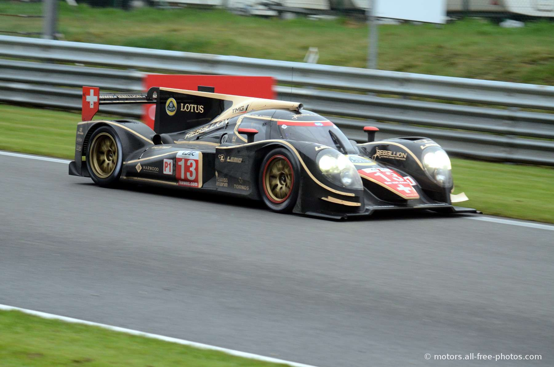 Lola B12/60-Toyota - Team Rebellion Racing