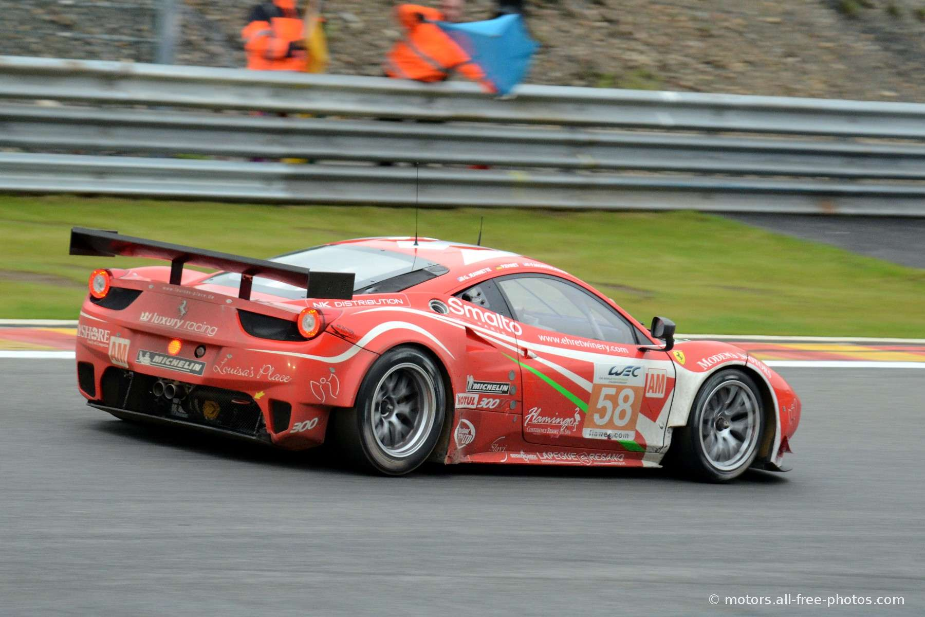 Ferrari 458 Italia - Team Luxury Racing