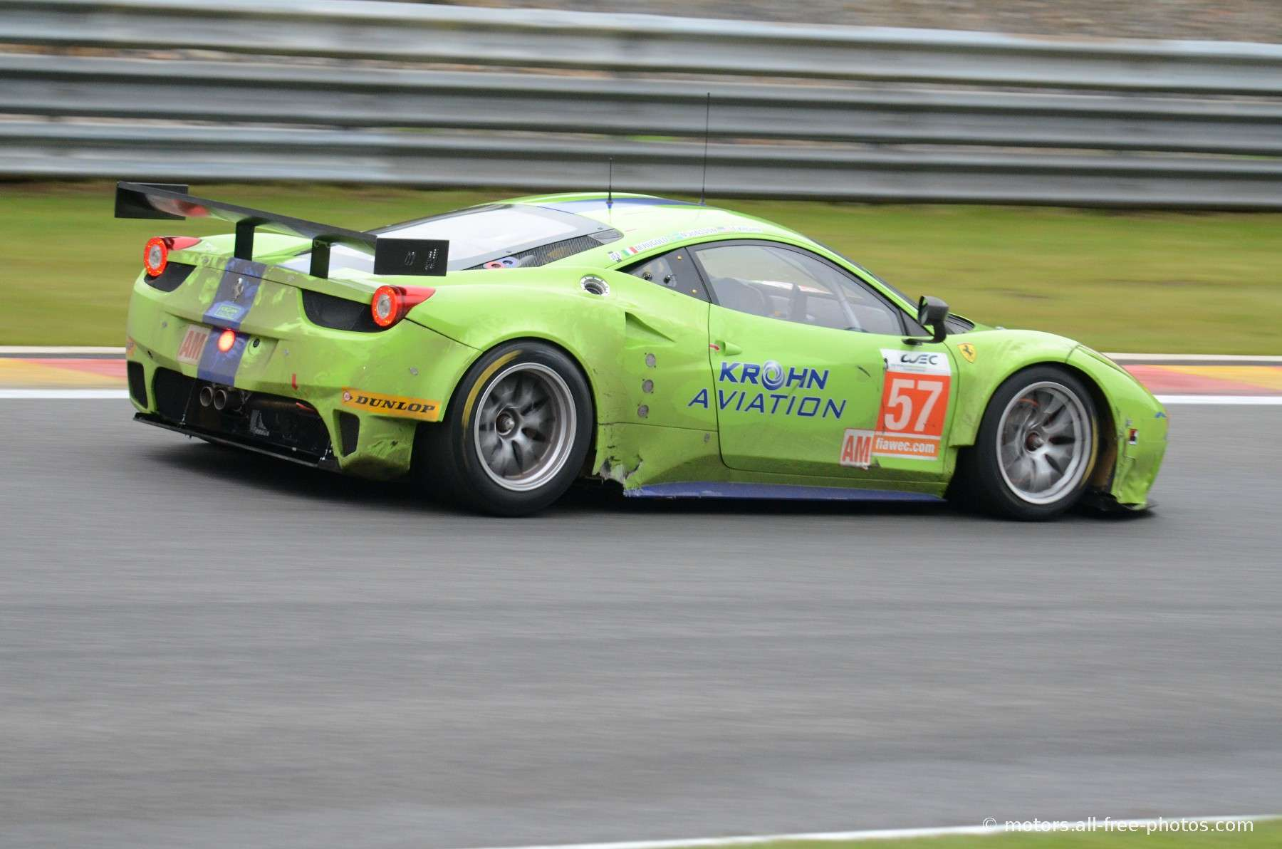Ferrari 458 Italia - Team Krohn Racing