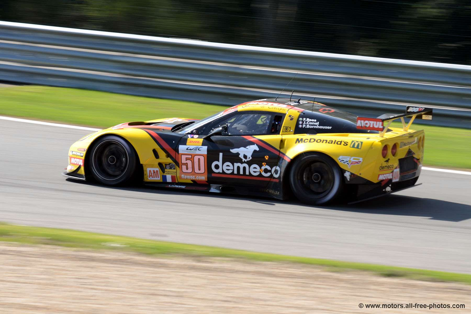 Chevrolet Corvette C6-ZR1 - Team Larbre Competition