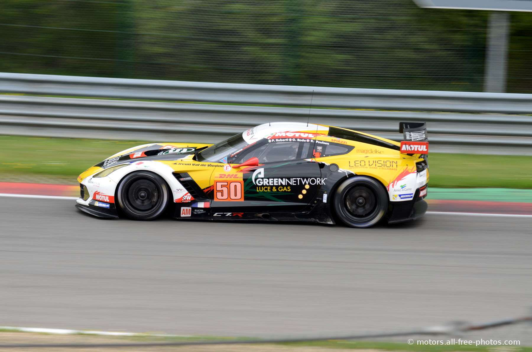 Chevrolet Corvette C7 - Team Larbre Competition