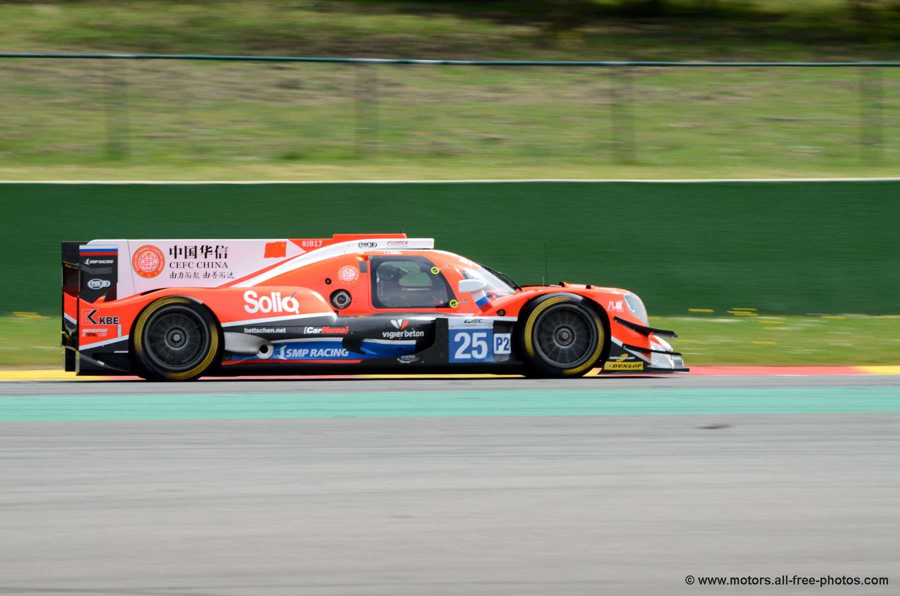 Oreca 07-Gibson - Team CEFC Manor TRS racing