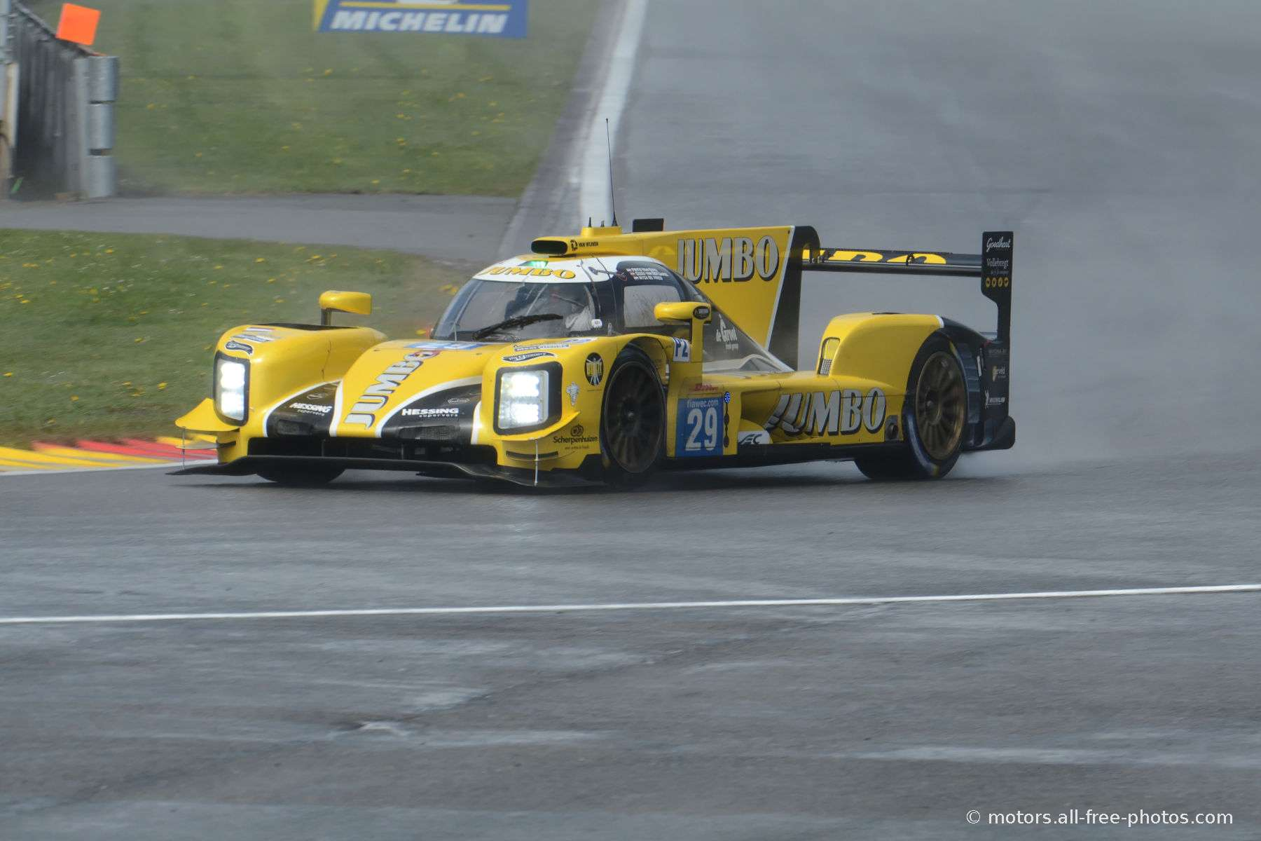 Dallara P217-Gibson - Racing Team Nederland