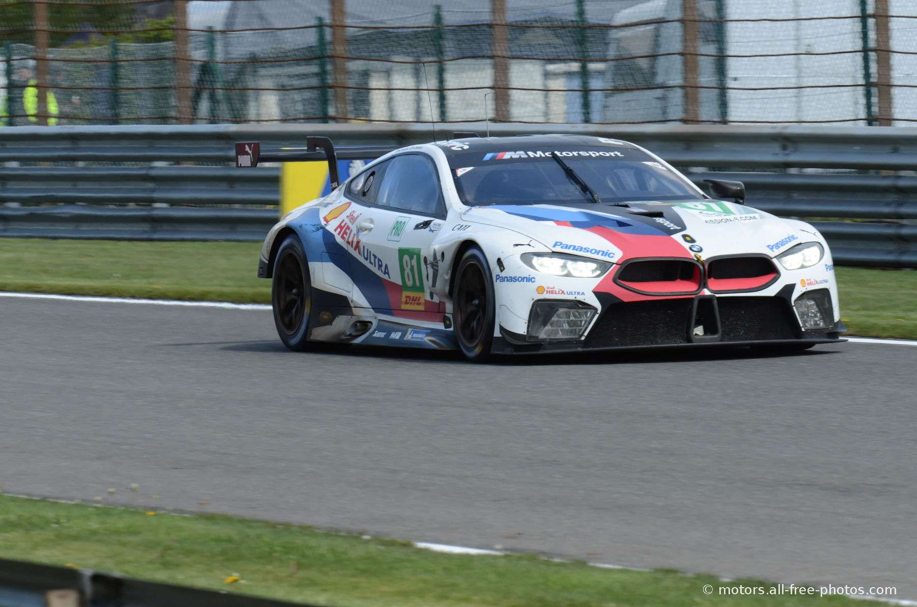 BMW M8 GTE - BMW Team MTEK