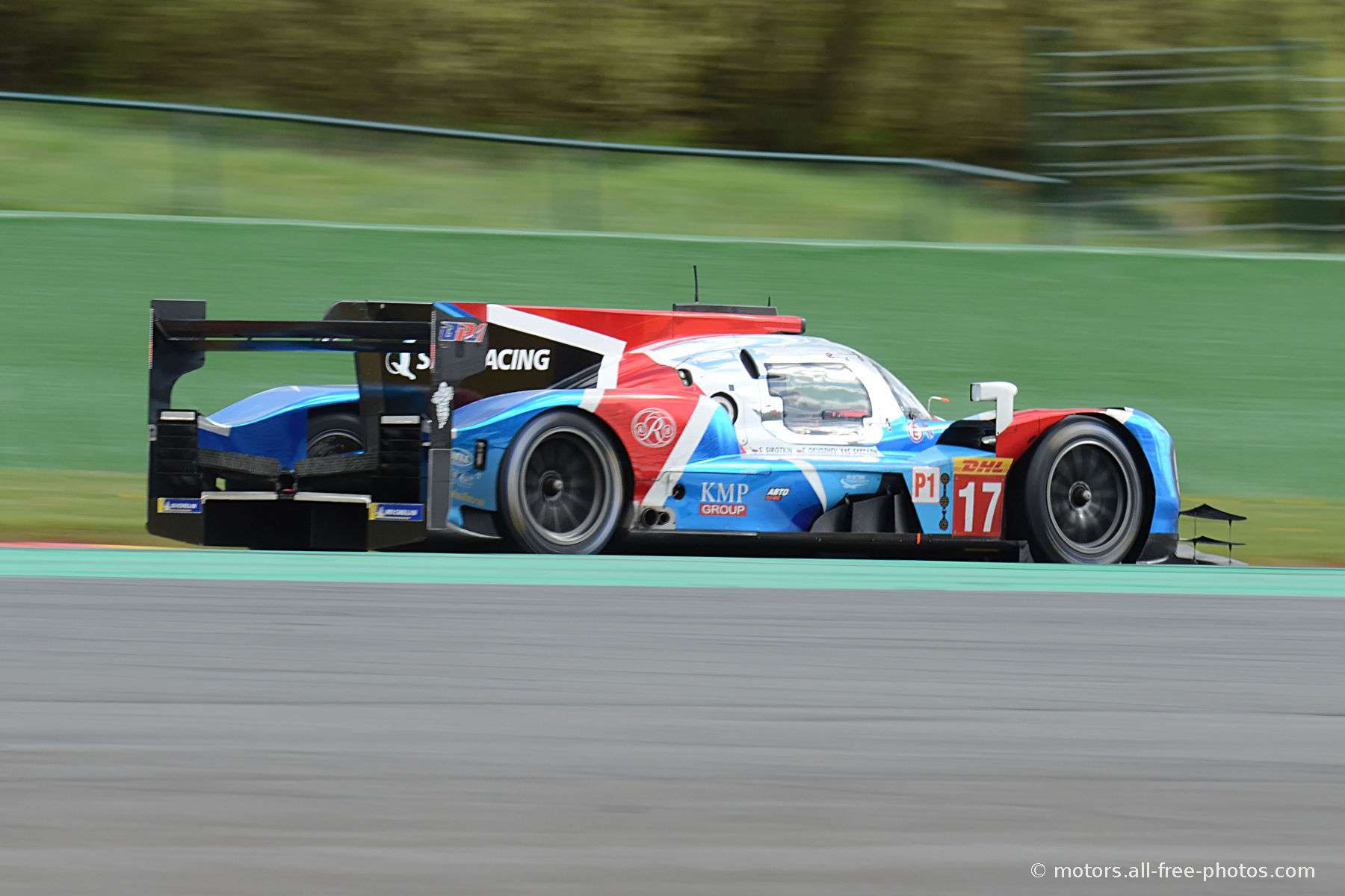 BR Engineering BR1-AER - Team SMP Racing