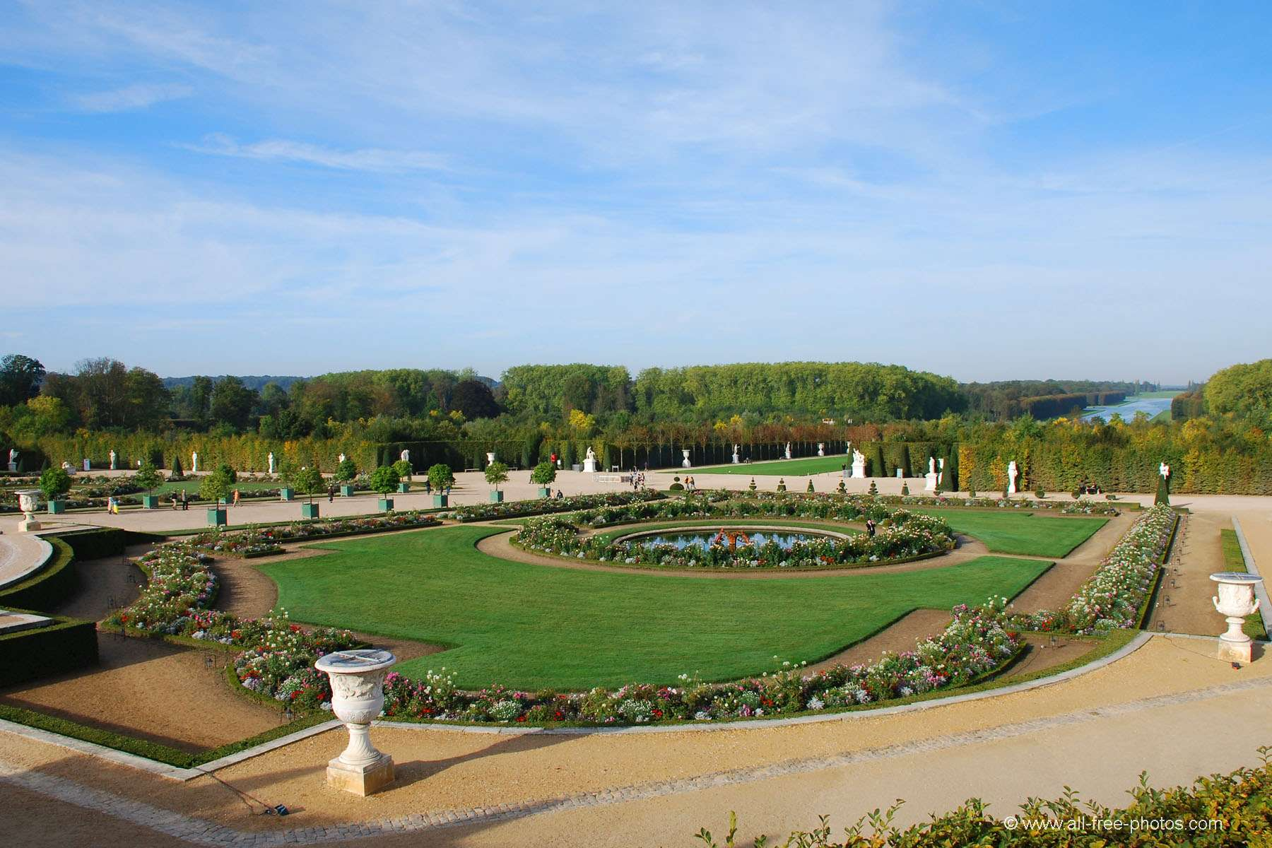 The flowerbed of Latone - Versailles - France
