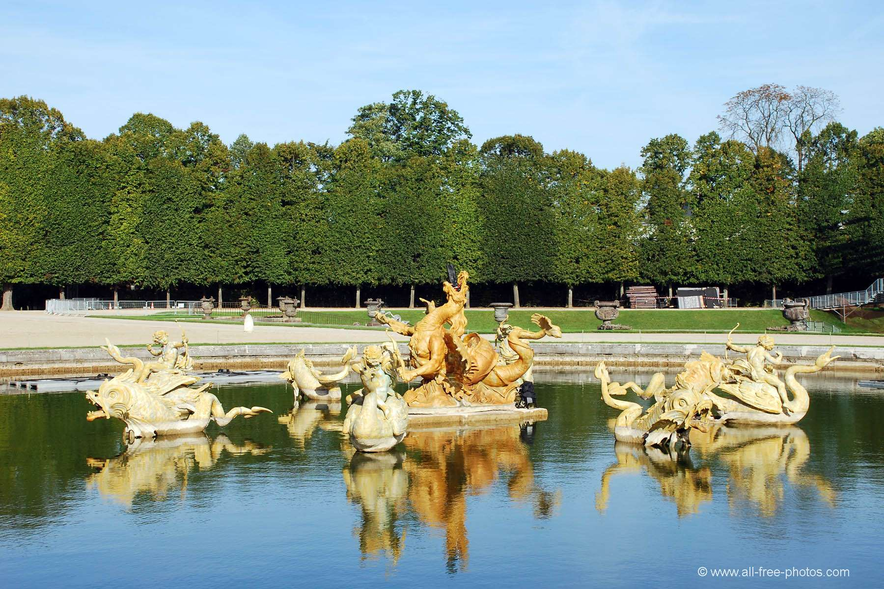 Neptune's fountain - Versailles - France