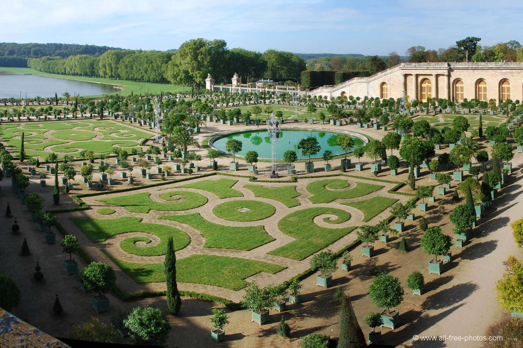 The orangery - Chateau at Versailles - France