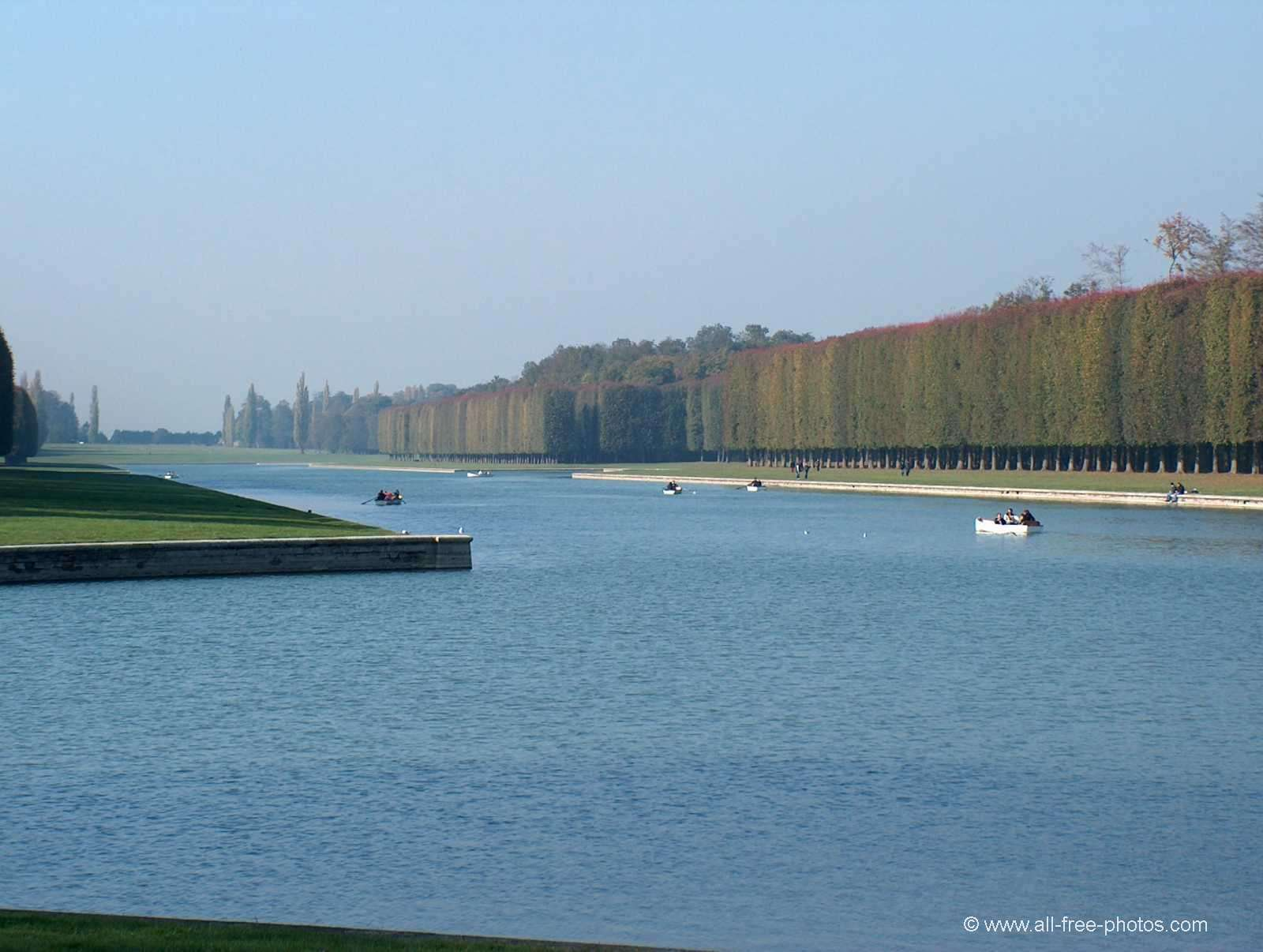 The Grand Canal - Versailles - France