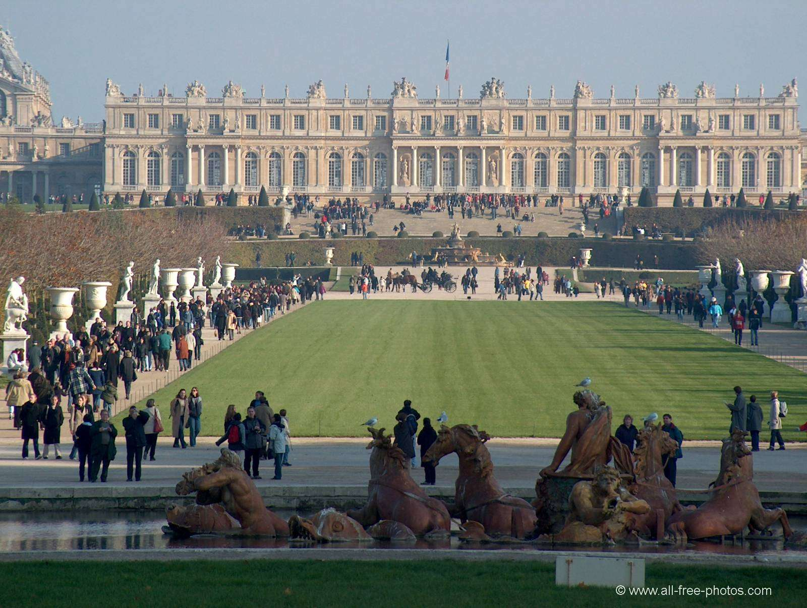 Chateau at Versailles - France