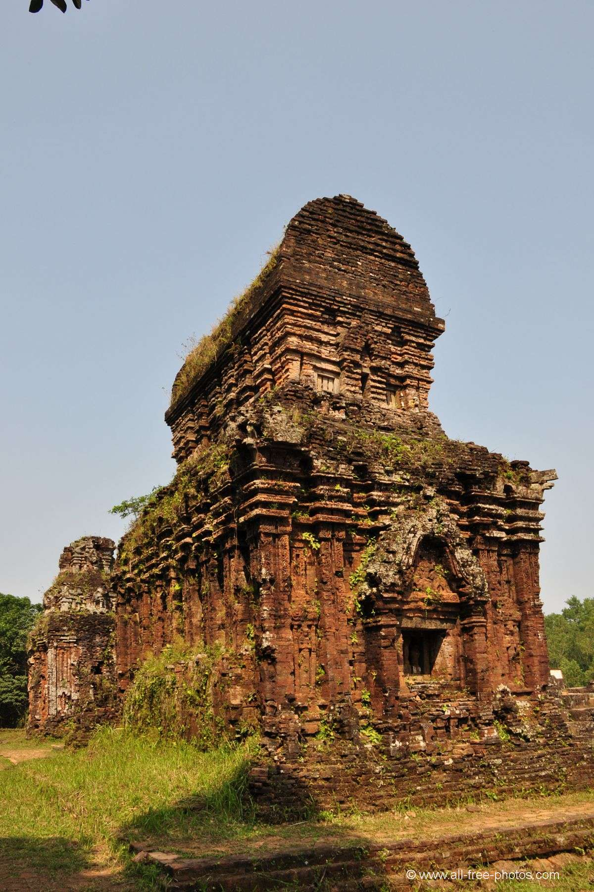 Cham architecture - Sanctuary of My Son - Vietnam