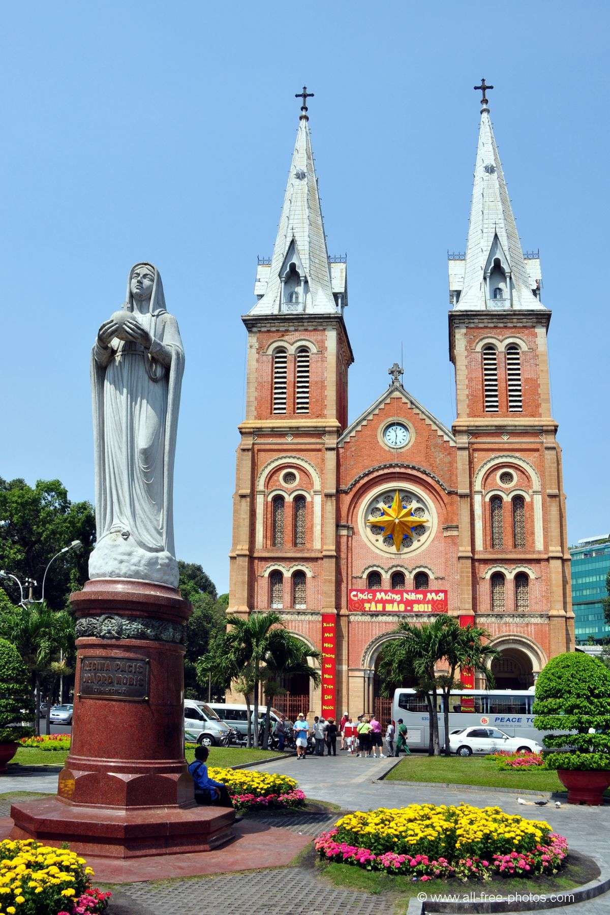Photo: Notre Dame Cathedral - Ho Chi Minh City - Vietnam