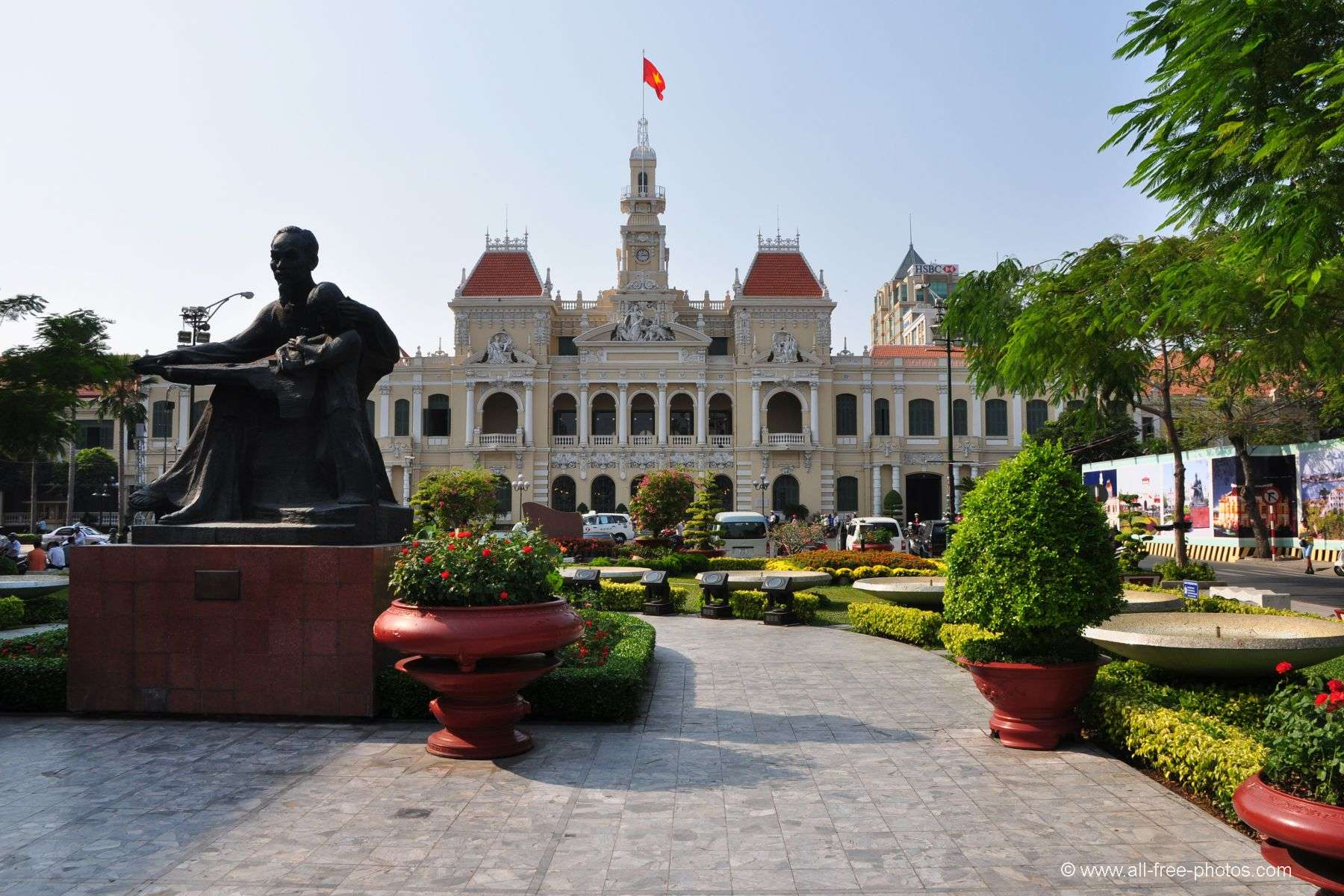City Hall - Ho Chi Minh City - Vietnam