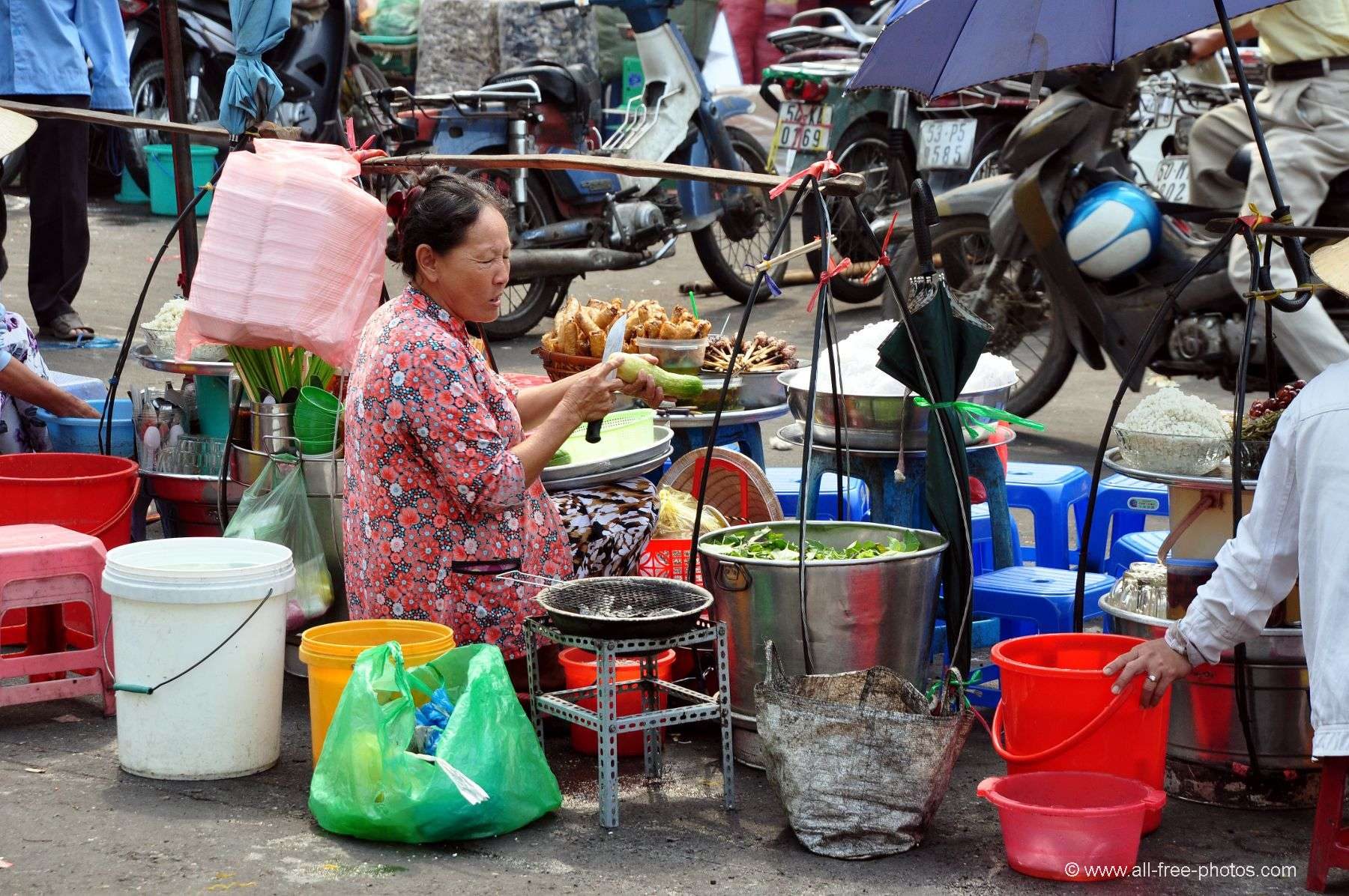 Daily life in Ho Chi Minh City - Vietnam