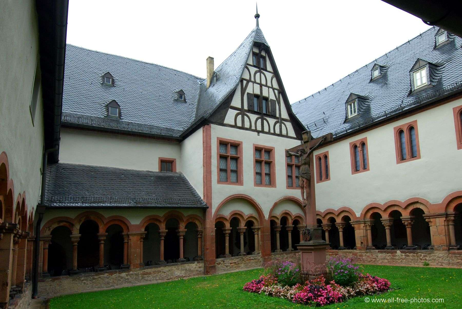 Cloister - Aschaffenburg - Germany