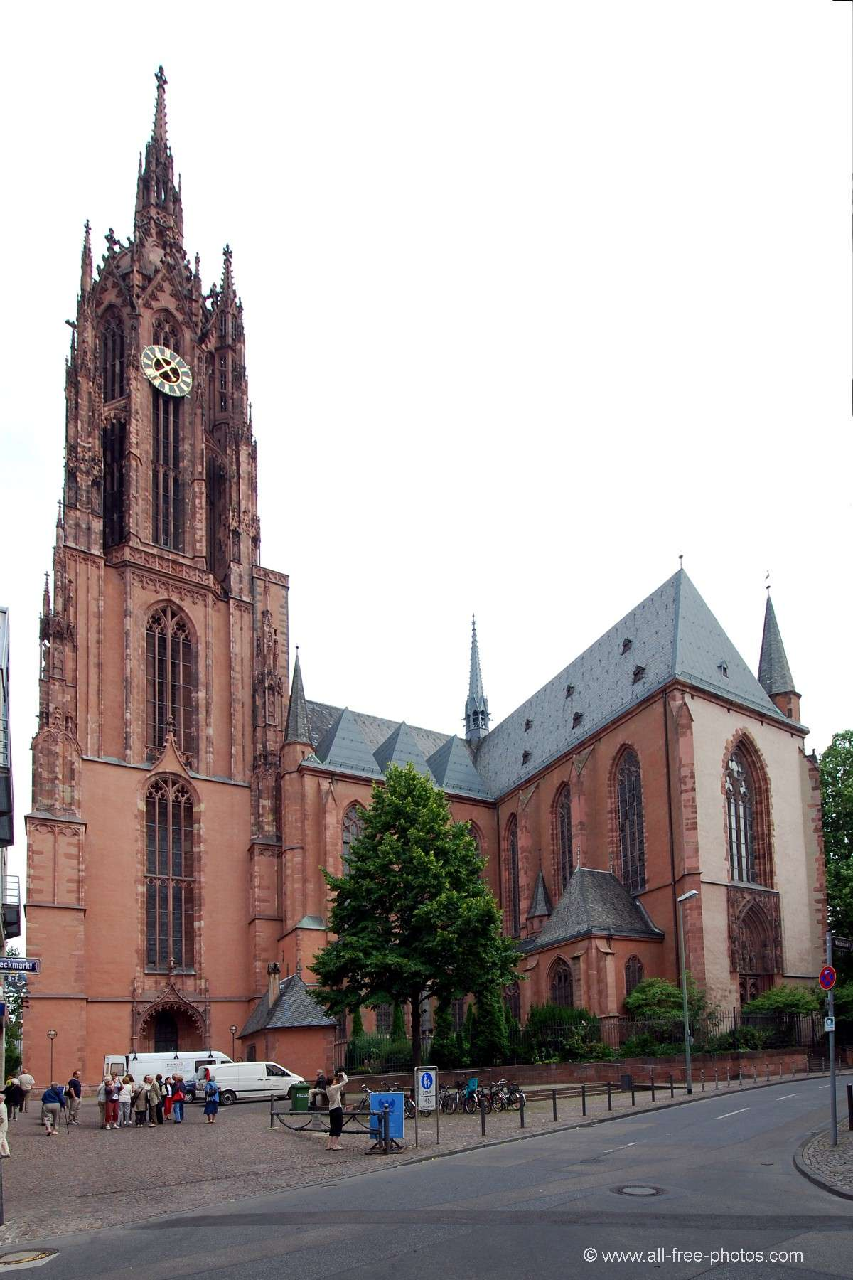 Saint Bartholomeus's Cathedral - Frankfurt on the Main - Germany