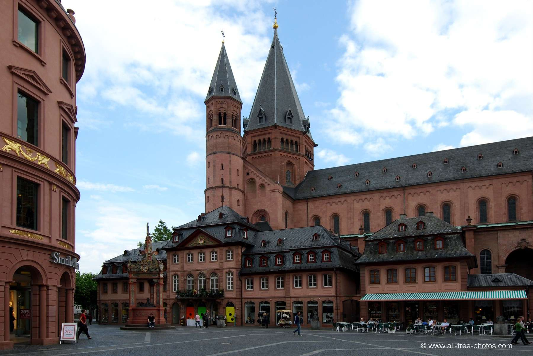 Mainz Germany  city photo : ... Towns and villages Germany Mainz Market square Mainz Germany