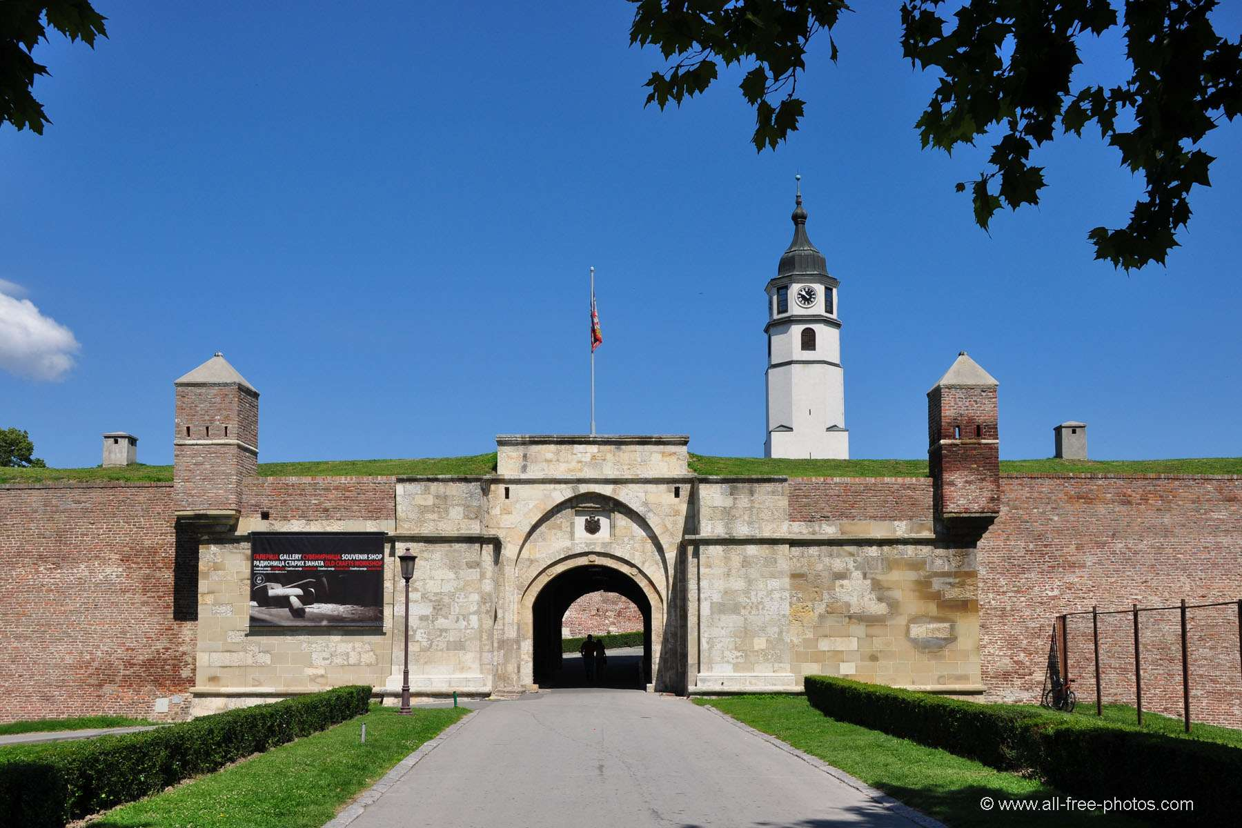 Fortress of Kalemegdan - Belgrade - Serbia